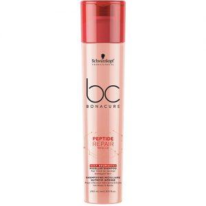 BC BONACURE PEPTIDE REPAIR RESCUE Deep Nourishing Micellar Shampoo