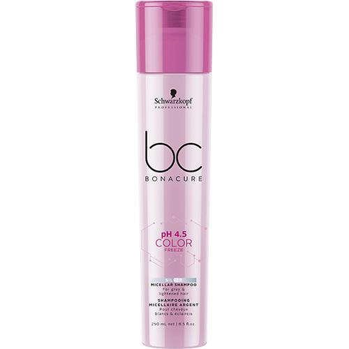 BC BONACURE ph4.5 COLOR FREEZE Silver Micellar Shampoo