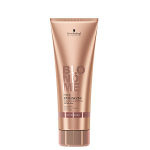 BLONDME Tone Enhancing Bonding Shampoo- Warm Blondes