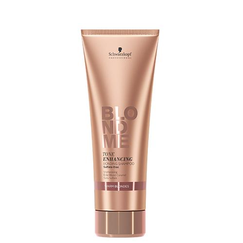 BLONDME Tone Enhancing Bonding Shampoo- Warm Blondes